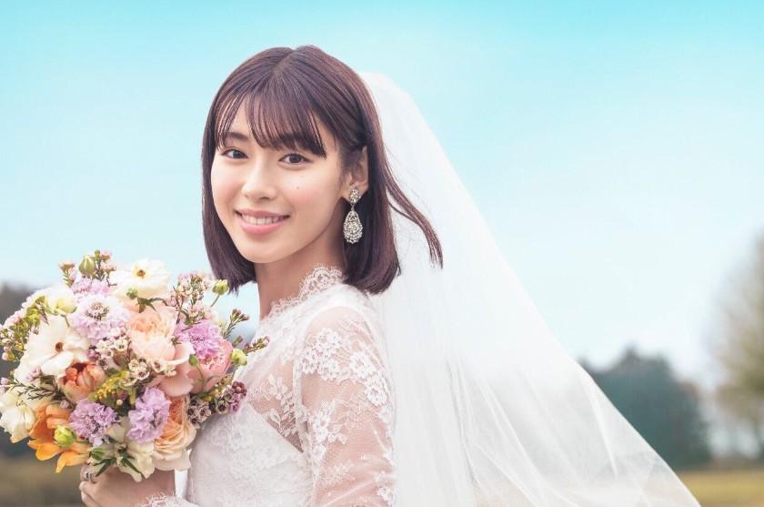 白石聖の花嫁姿