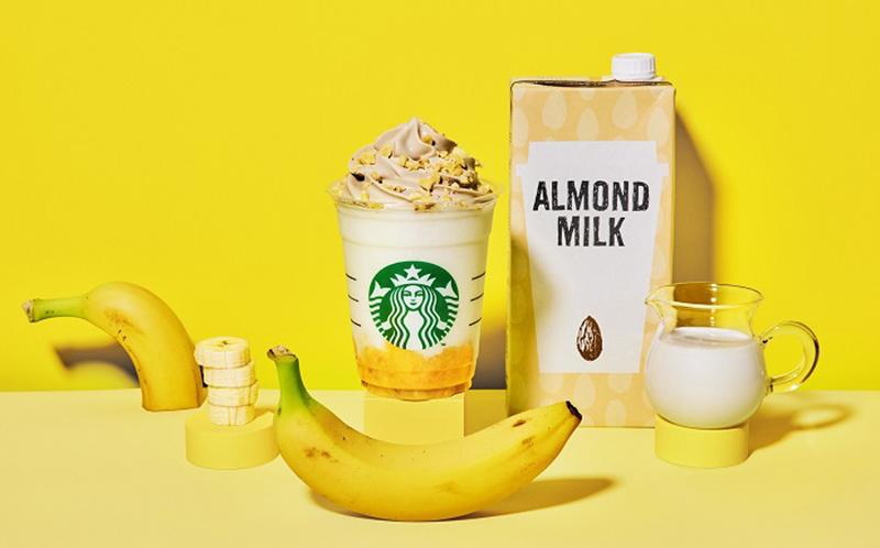 スタバ,バナナンアーモンドミルクフラペチーノ,いつまで