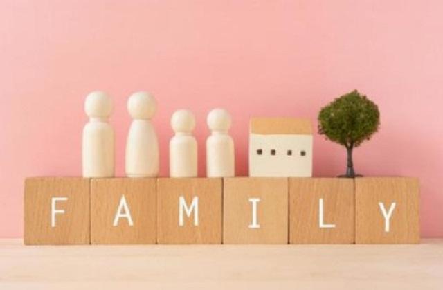 familyのブロック
