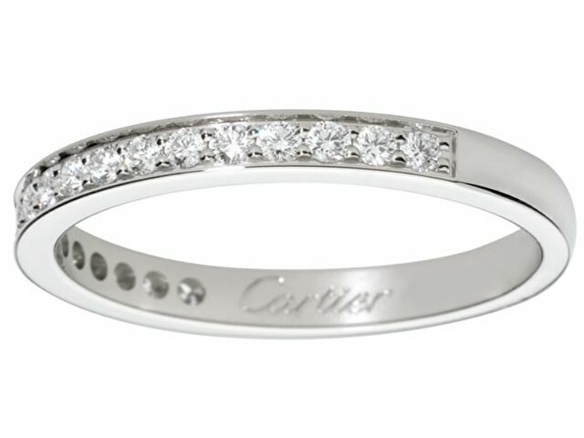 カルティエの結婚指輪