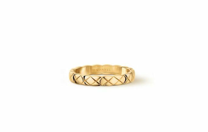 CHANELの結婚指輪の画像